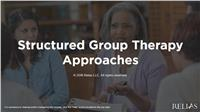 Structured Group Therapy Approaches