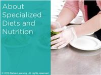 About Specialized Diets and Nutrition for Licensed Professionals